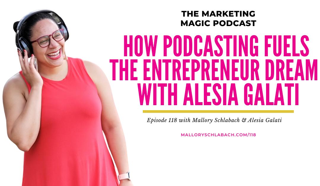 #118: How Podcasting Fuels the Entrepreneur Dream